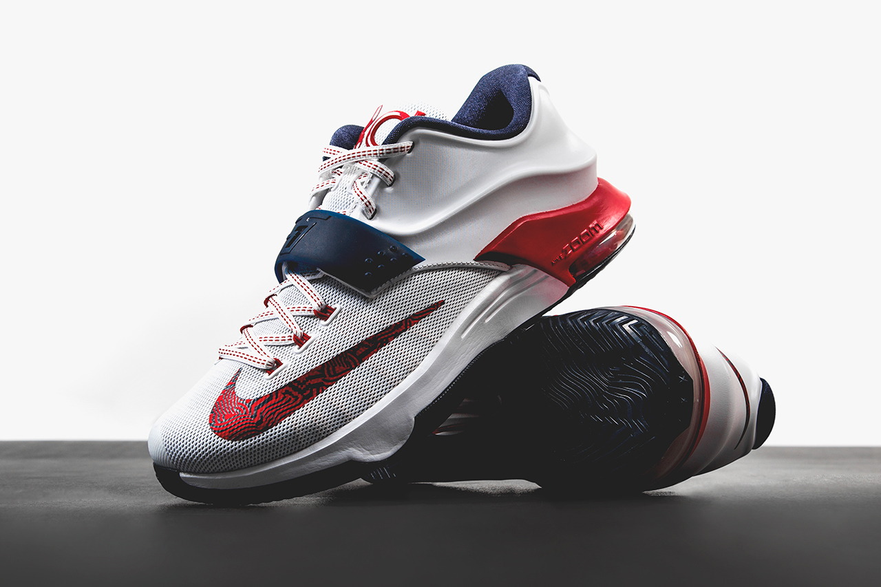 "A First Look at the Nike KD7 ""July 4th"""