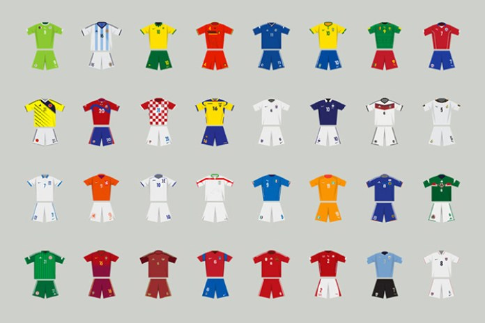 A History of FIFA World Cup Kits From the Last 84 Years