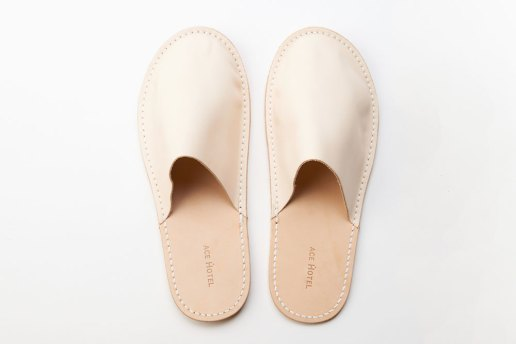 Ace Hotel x Hender Scheme Custom Slippers