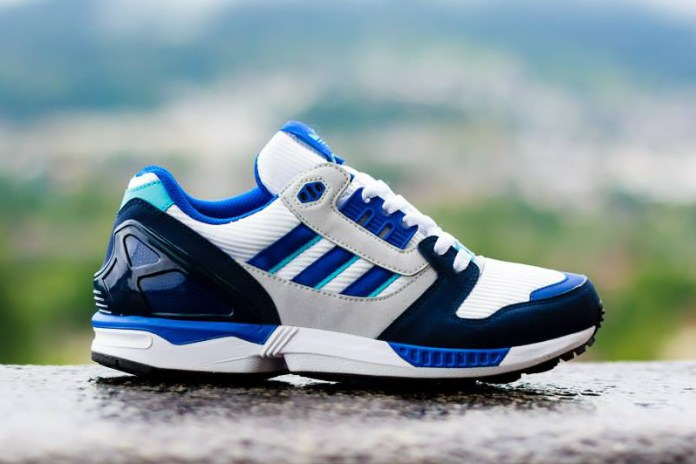 adidas Originals ZX 8000 White/Royal/Navy