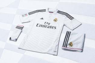 adidas Unveils Real Madrid's New 2014/15 Kits