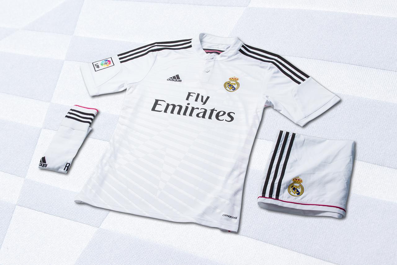 adidas Unveils Real Madrid's New 2014/15 Kits