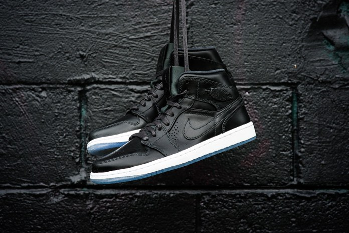 Air Jordan 1 Mid Nouveau Anthracite/White