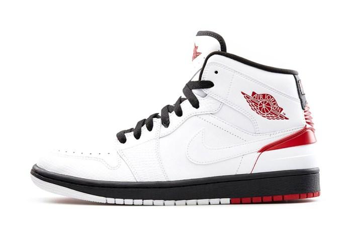 Air Jordan 1 Retro '86 White/Gym Red-Black