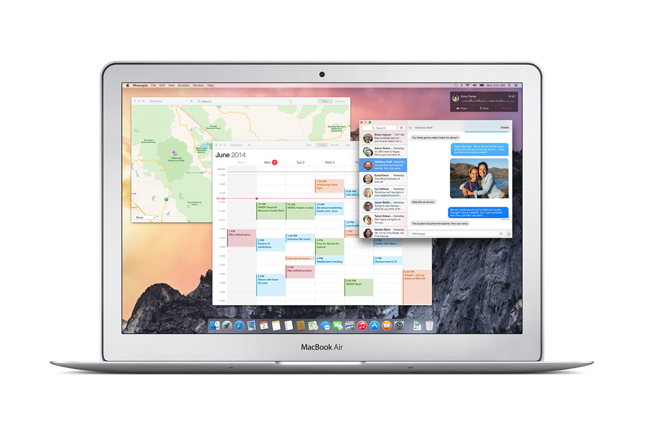 Apple Introduces OS X Yosemite