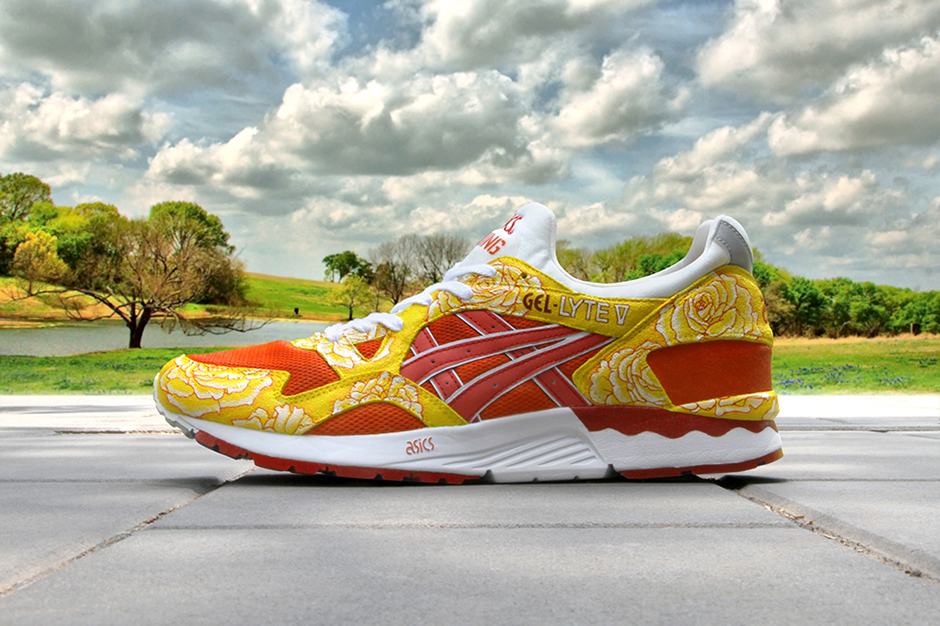 "ASICS Gel Lyte V ""From Beijing to Texas"" Customs by Zhijun Wang"