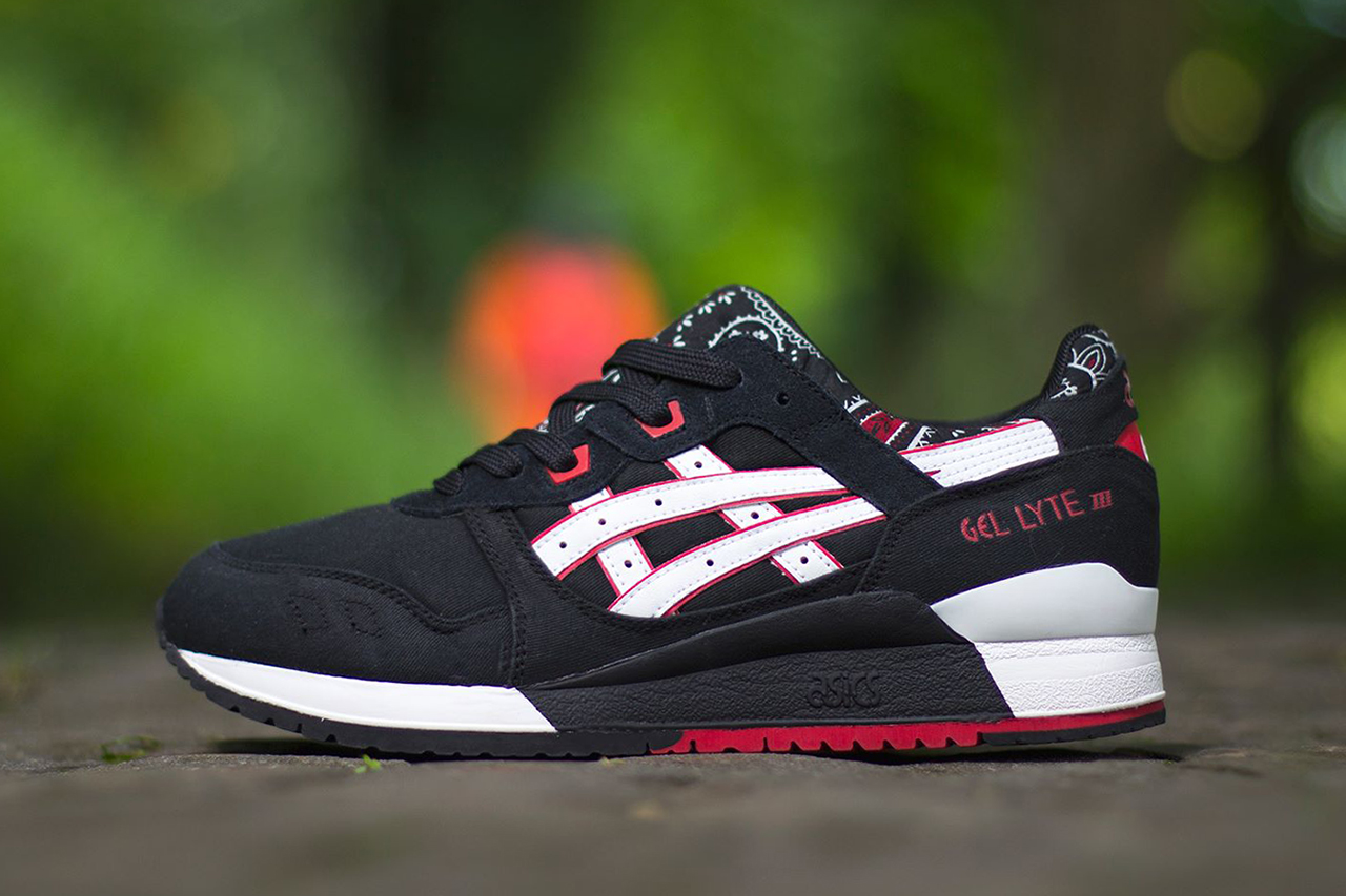 asics gel lyte iii paisley pack hypebeast. Black Bedroom Furniture Sets. Home Design Ideas
