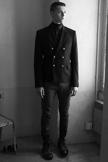 balmain 2014 fall winter lookbook