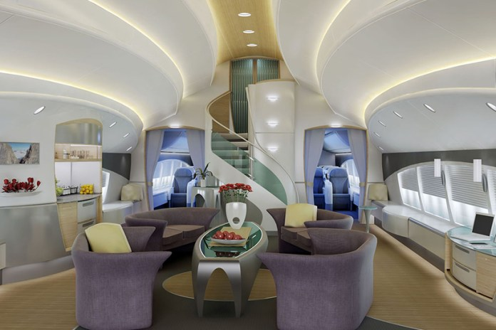 Boeing Jumbo Jets Transformed for VIPs