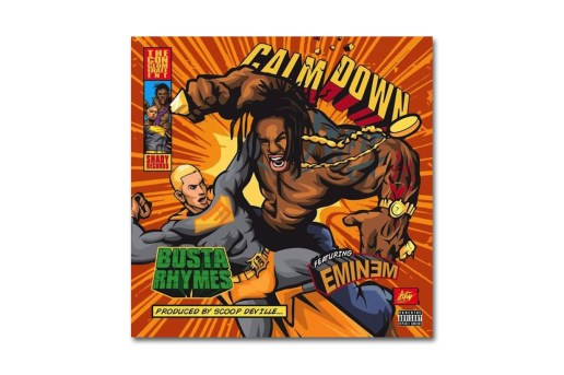 Busta Rhymes featuring Eminem - Calm Down