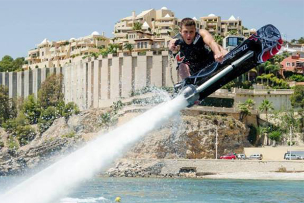 Champion Jet-Skier Franky Zapata Develops a Hoverboard for the Water