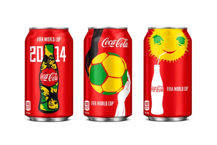 Check Out the New Coca-Cola Cans for the World Cup