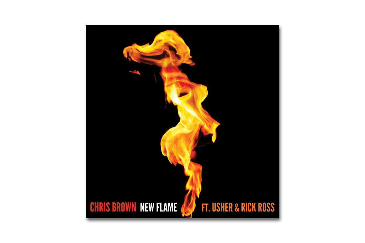 Chris Brown featuring Usher & Rick Ross - New Flame