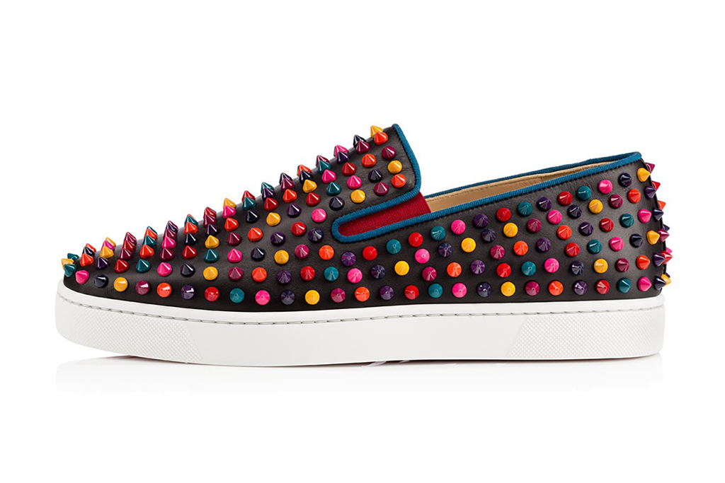 christian louboutin roller boat spikes