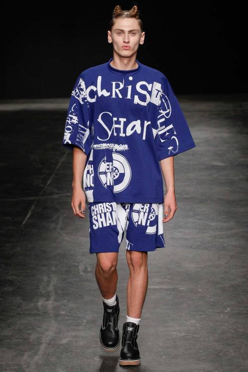 Christopher Shannon 2015 Spring/Summer Collection