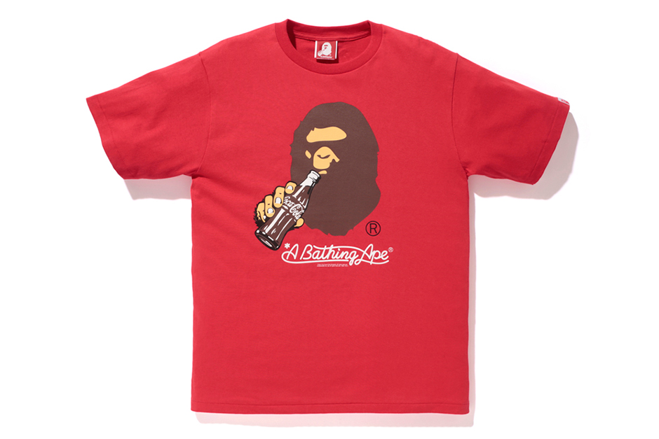 coca cola x a bathing ape 2014 capsule collection