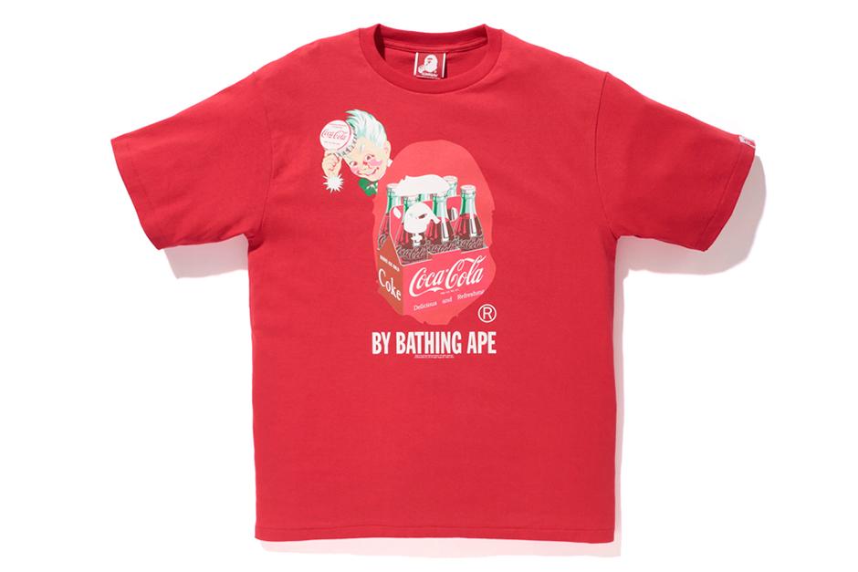 coca cola x a bathing ape 2014 capsule collection