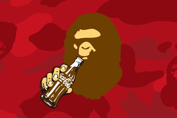Coca-Cola x A Bathing Ape Teaser