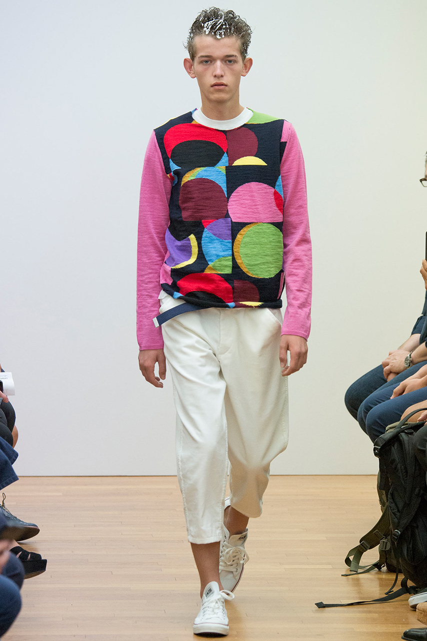 comme des garcons shirt 2015 spring summer collection