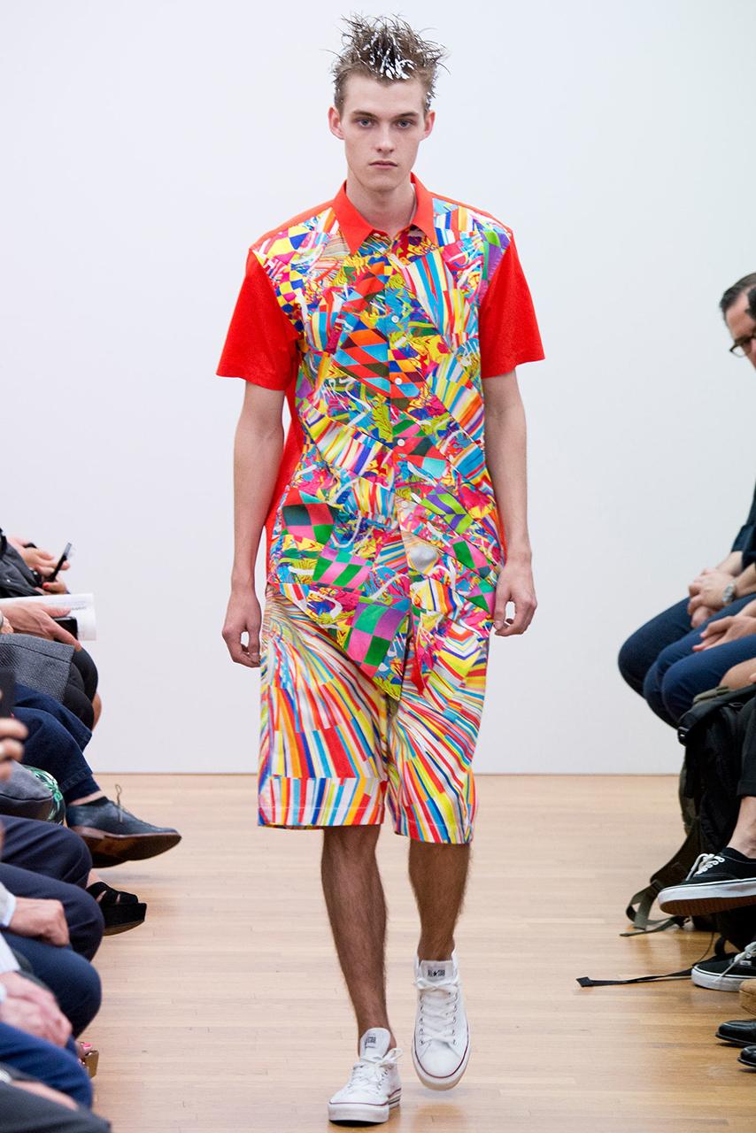 COMME des GARÇONS SHIRT 2015 Spring/Summer Collection