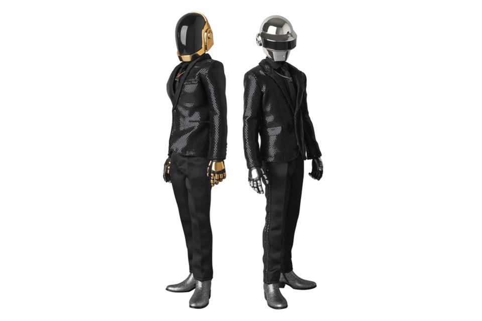 "Daft Punk x Medicom Real Action Heroes ""Random Access Memories"" Figures"