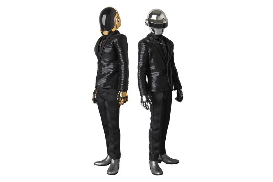 daft punk x medicom real action heroes random access memories figures