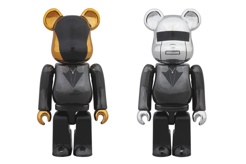 "Daft Punk x Medicom Toy ""Random Access Memories"" Bearbricks"