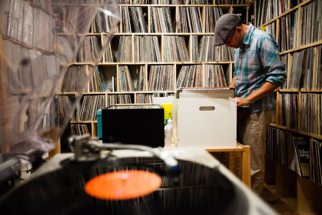 Eilon Paz Photographs Some of the World's Largest Vinyl Collections