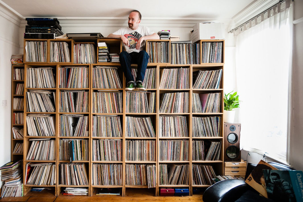eilon paz photographs some of the worlds largest vinyl collections
