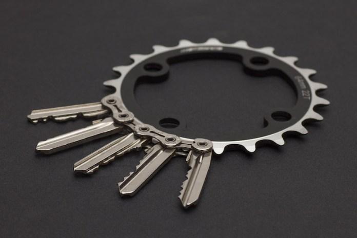 Farkas + Csortan TIK Bikechain Keyholders