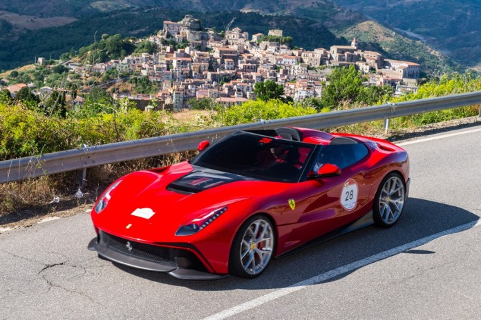 Ferrari's F12 TRS Makes its Debut in Sicily