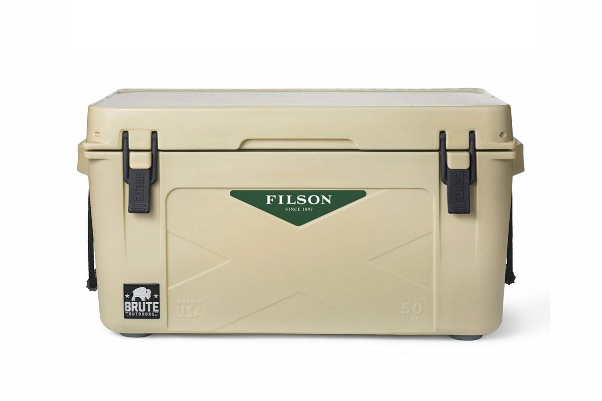 Filson x Brute Outdoors 50 QT Cooler