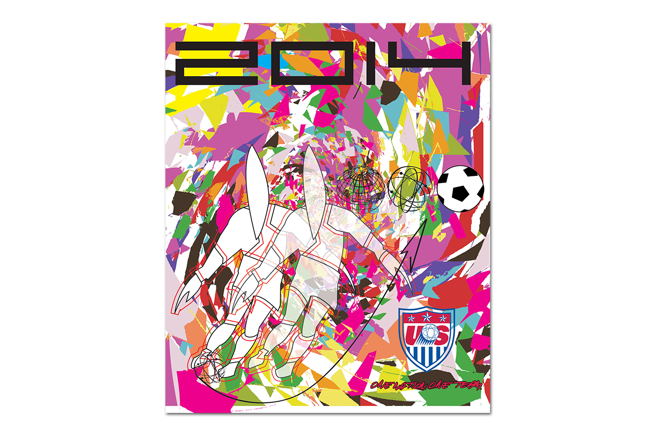 Futura Designs Custom Poster for U.S. Men's National Soccer Team