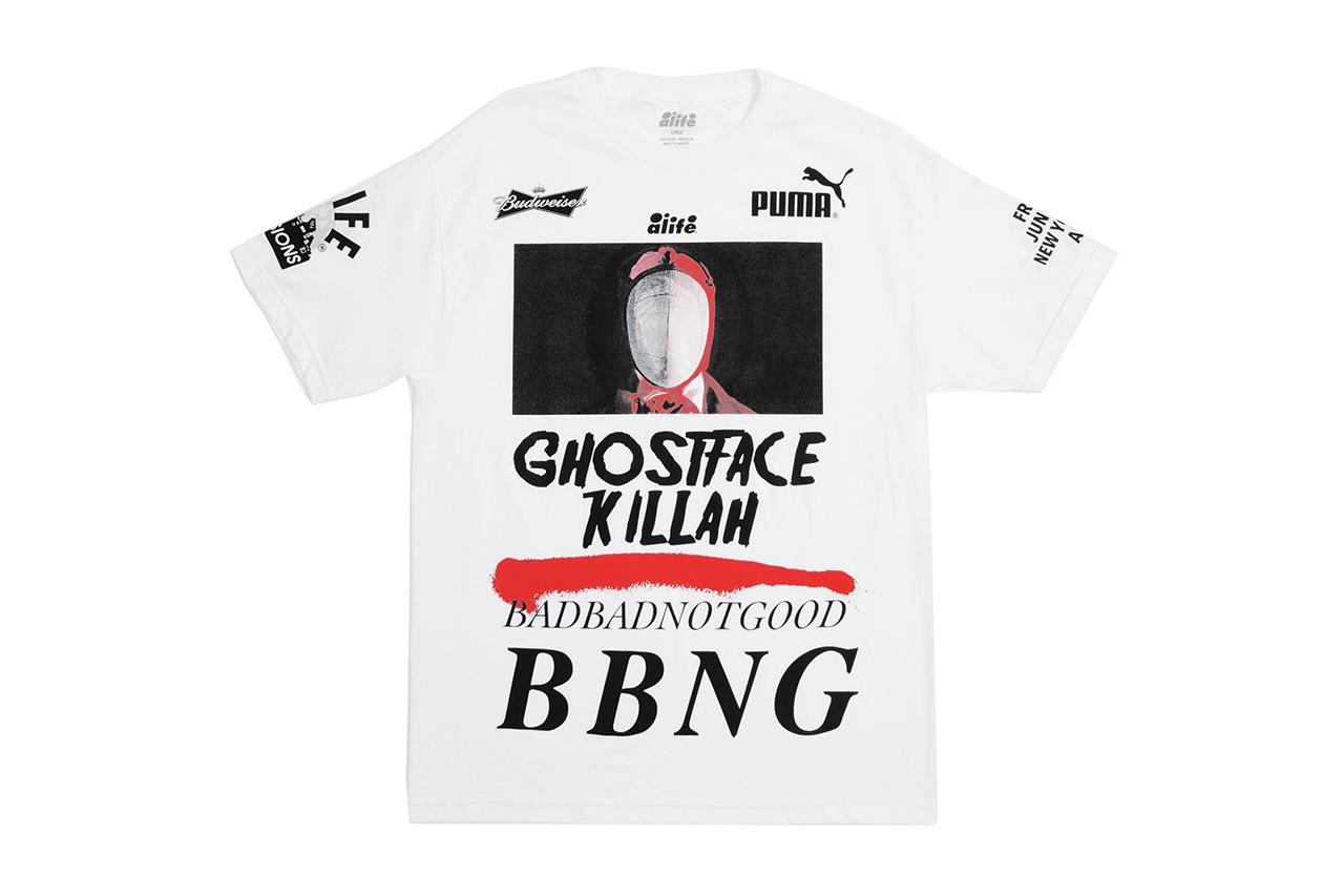 Ghostface Killah & BADBADNOTGOOD x Alife 2014 Summer T-Shirt