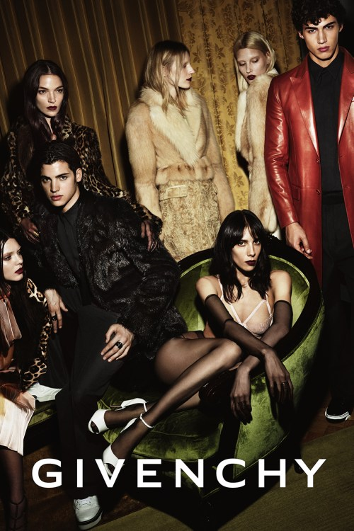 Givenchy 2014 Fall/Winter Campaign