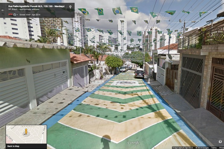 Google Adds More of Brazil, 12 World Cup Stadiums to Street View