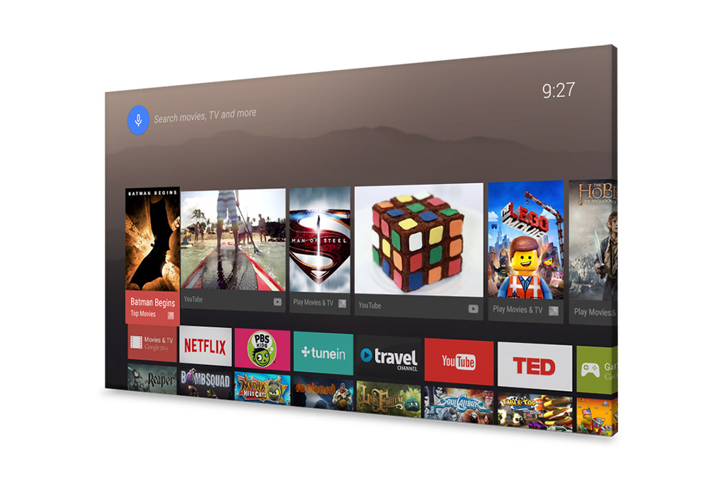 Google Introduces Android TV