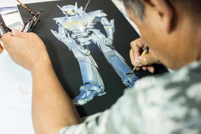 Hajime Sorayama: British Knights, Art and The Future