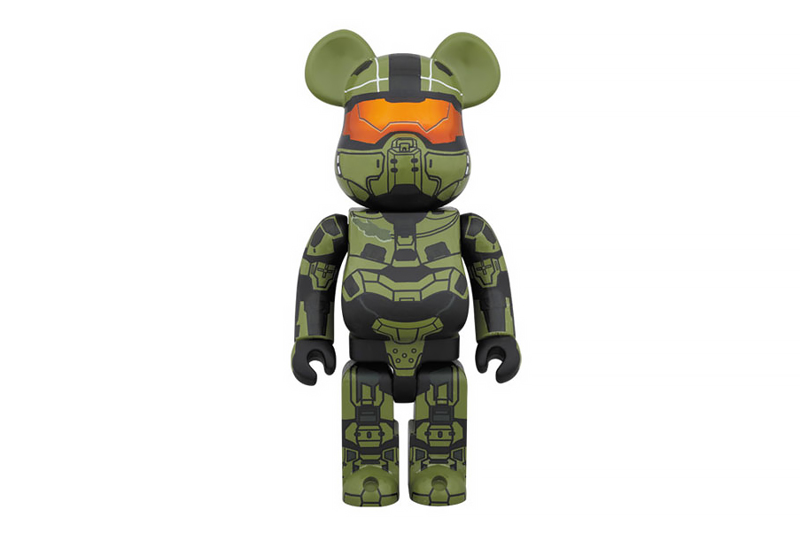 Halo x Medicom Toy 400% Master Chief Bearbrick