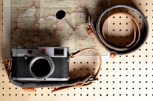hard graft Re-Process Camera Strap