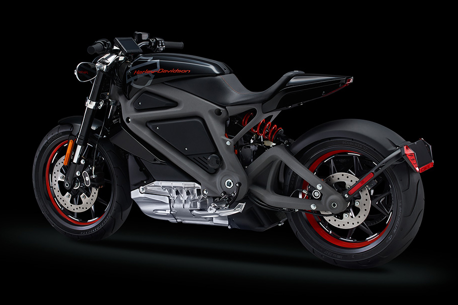 Harley-Davidson Unveils its First Electric Motorcycle