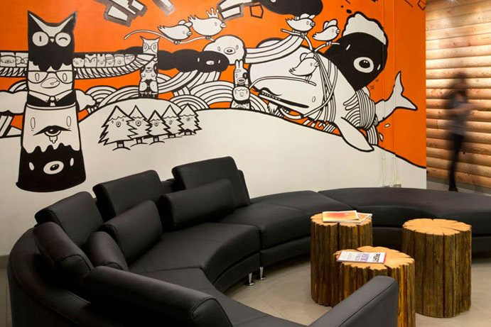 HootSuite Offices by SSDG Interiors