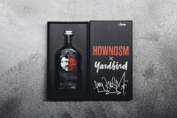 How and Nosm x Yardbird Limited Edition Art Bottle