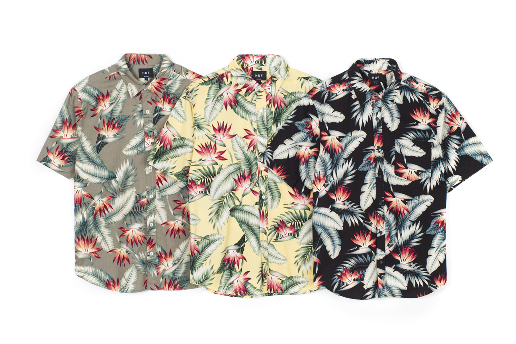 HUF 2014 Spring/Summer Apparel Collection