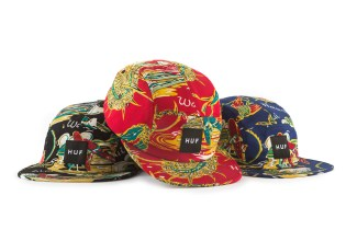HUF 2014 Spring/Summer Headwear Collection