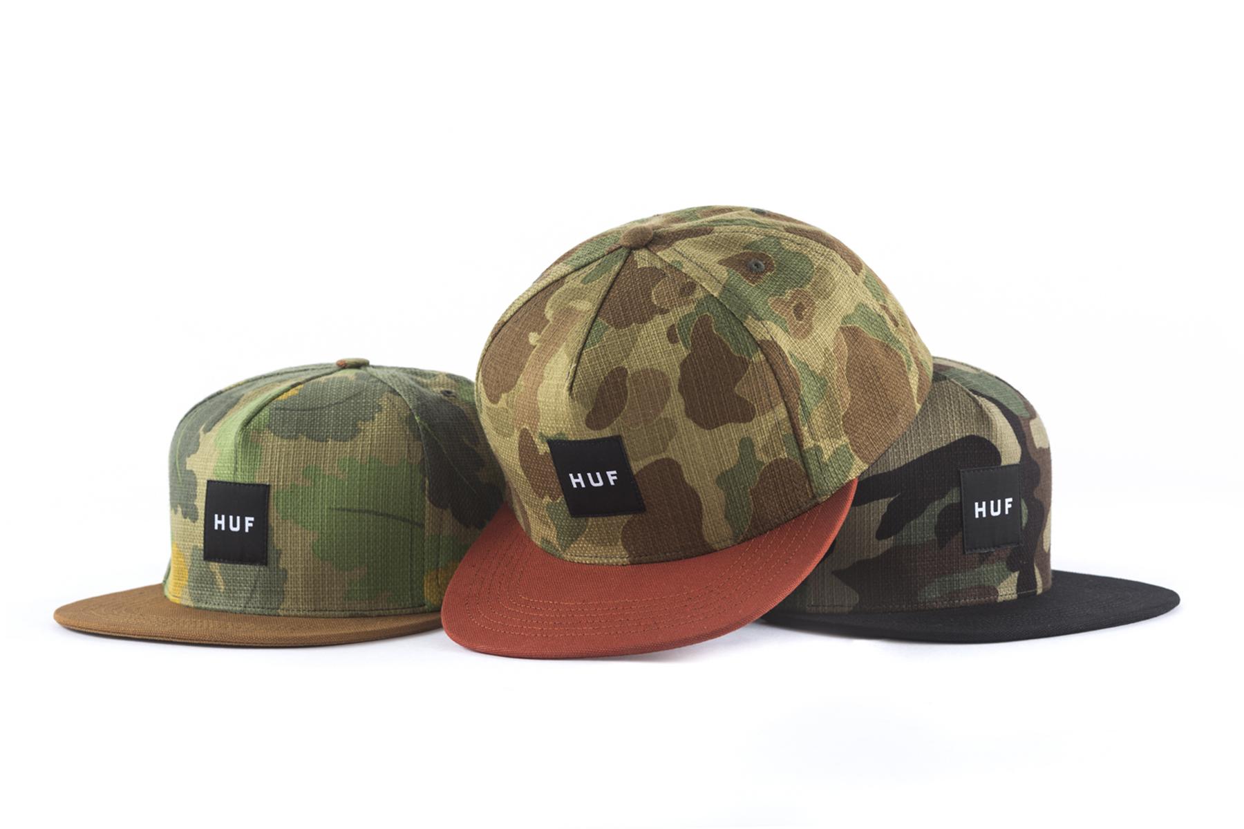 HUF 2014 Spring/Summer Headwear Collection