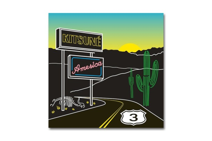 HYPETRAK PREMIERE: Kitsuné – AMERICA 3 (Mixtape)