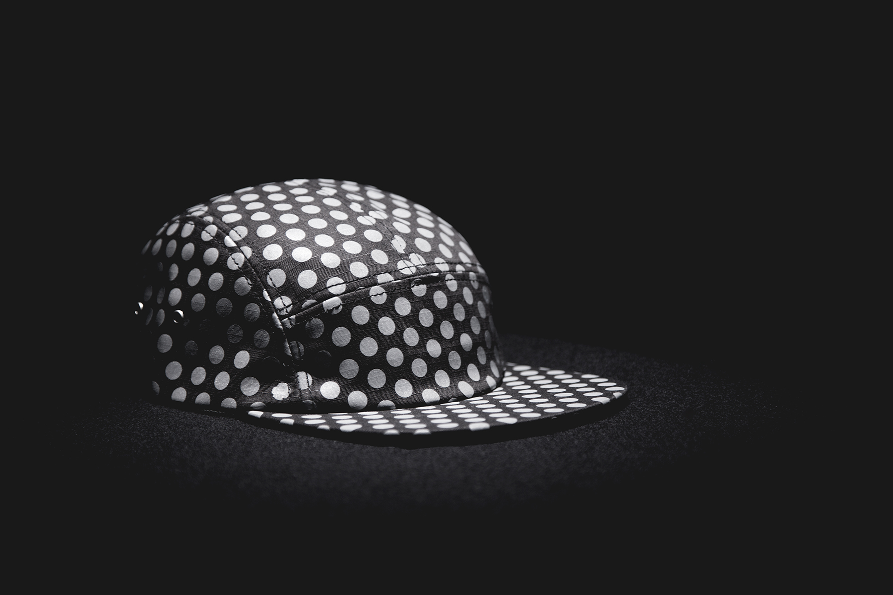 icny 2014 spring summer dotted 5 panel cap