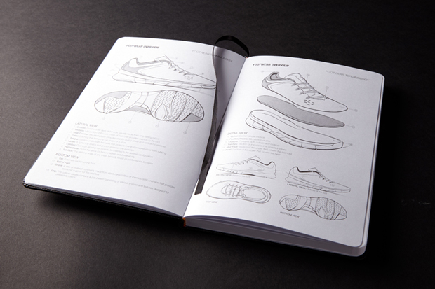 idraw shoes sketchbook