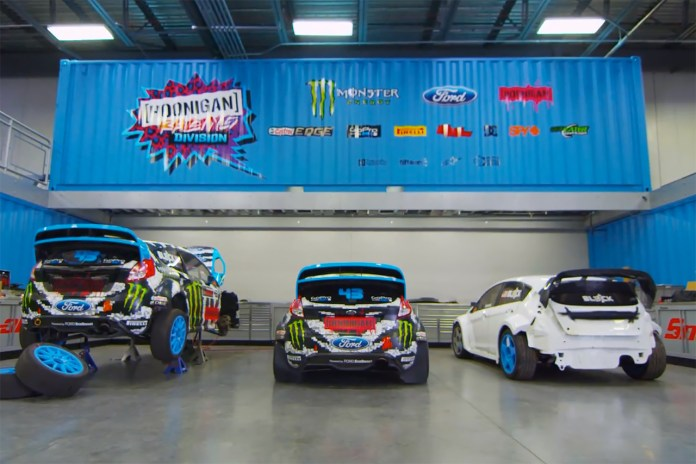 Ken Block Gives a Tour of the Hoonigan Racing HQ